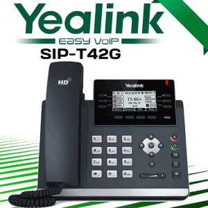 Yealink-SIP-T42G-Voip-Phone-Dubai-UAE