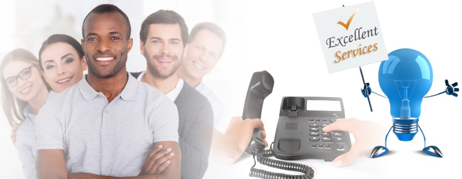 Telephone system repair service
