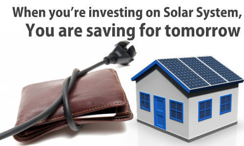 Solar System for Save Money