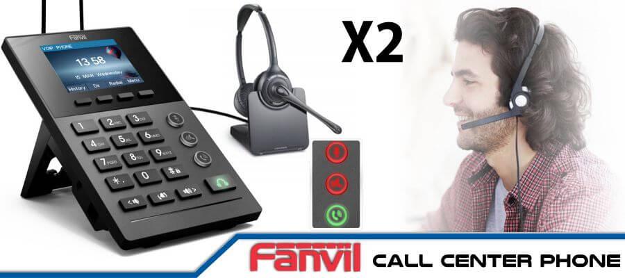 Fanvil X2 Call Center Phone Cameroon