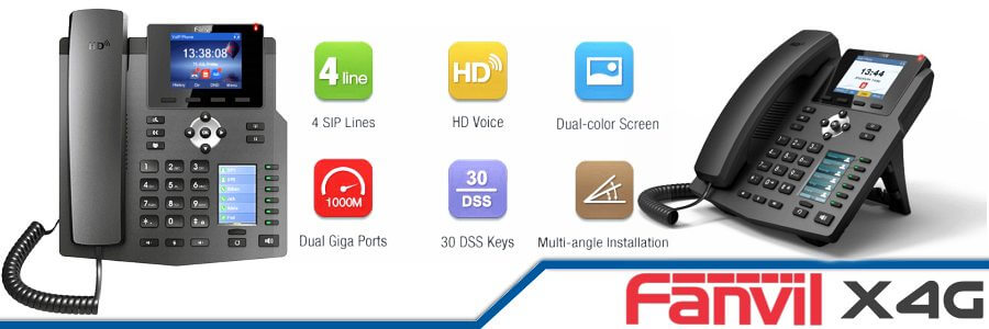 Fanvil X4G IP Phone Cameroon