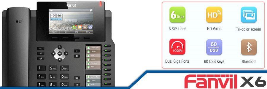 Fanvil X6 IP Phone Cameroon