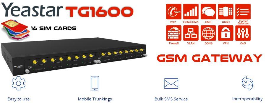 Yeastar TG1600 GSM Gateway Cameroon