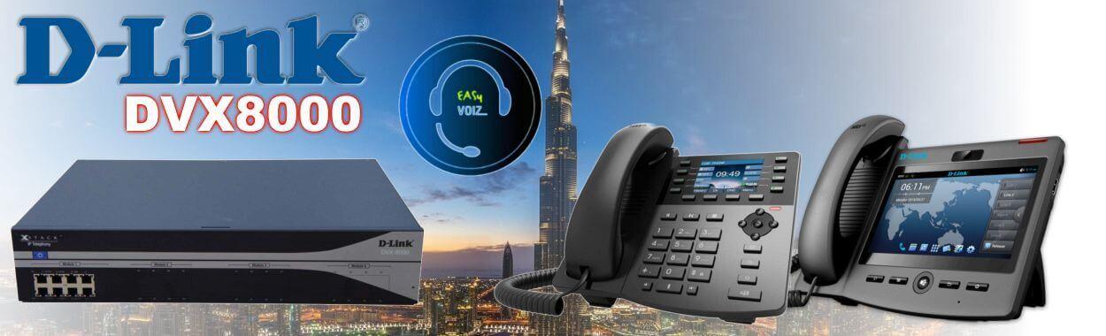 Dlink DVX8000 IP PBX System Cameroon