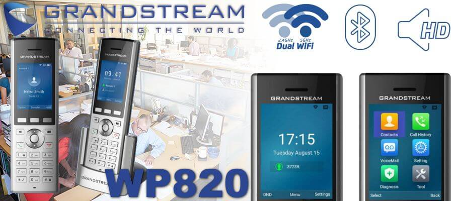 grandstream wp820 wifi dect phone dubai